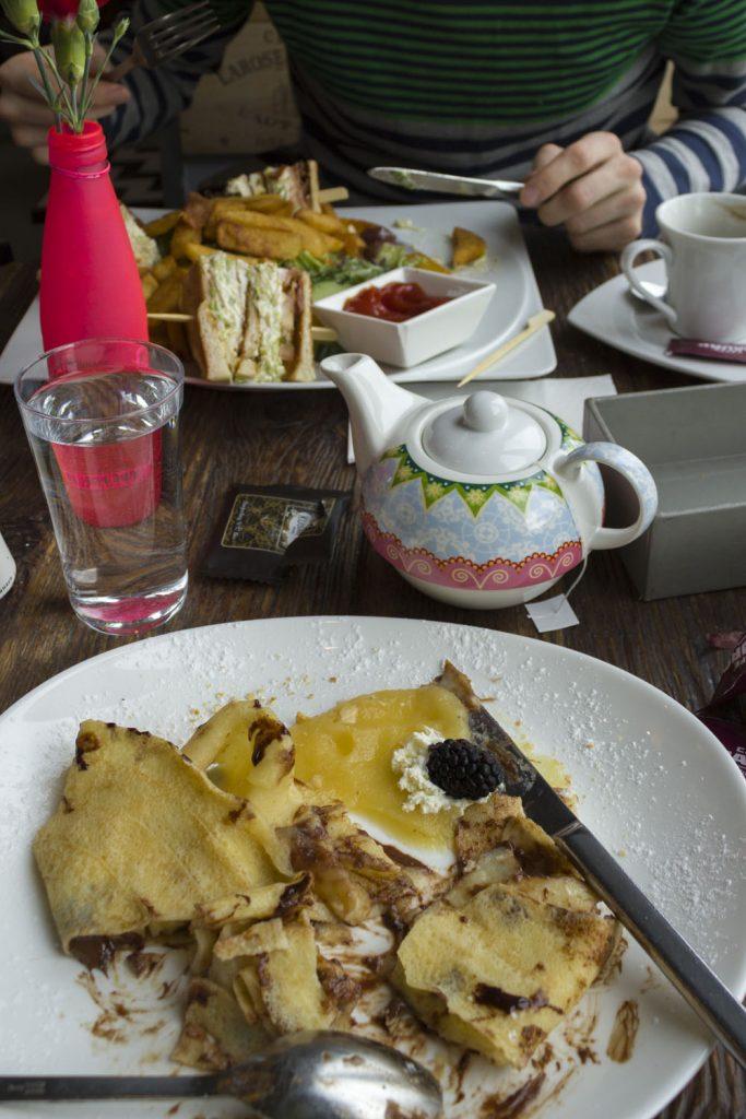 Lunch in Café Français in Wenen