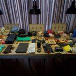 De klaar voor vertrek-tag voor Zuid-Amerika