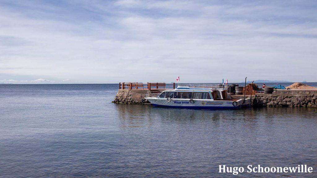 Boot Titicacameer