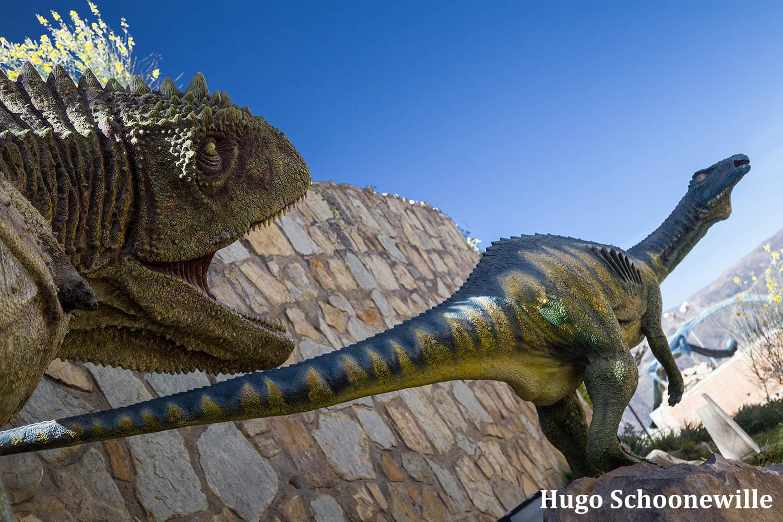 Dinosaurussen in Parque Cretático Sucre