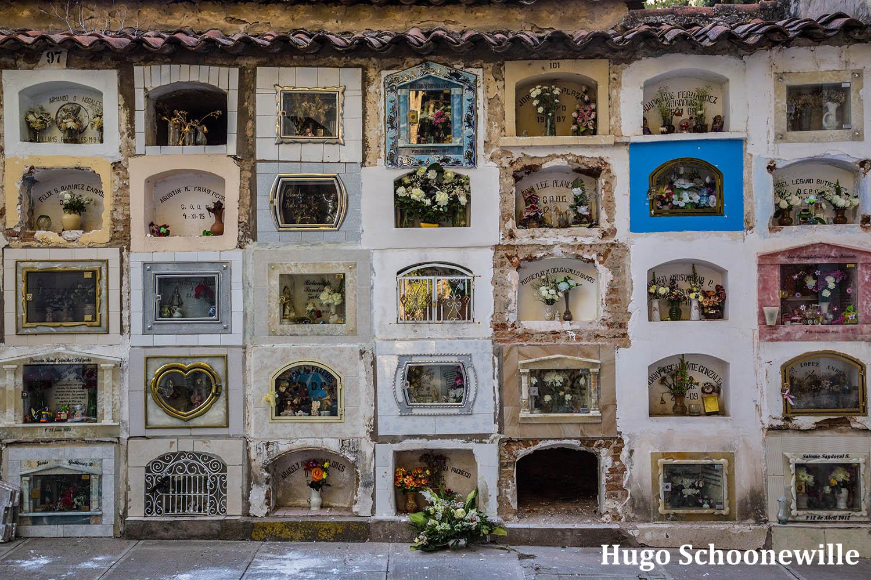 Begraafplaats in Sucre
