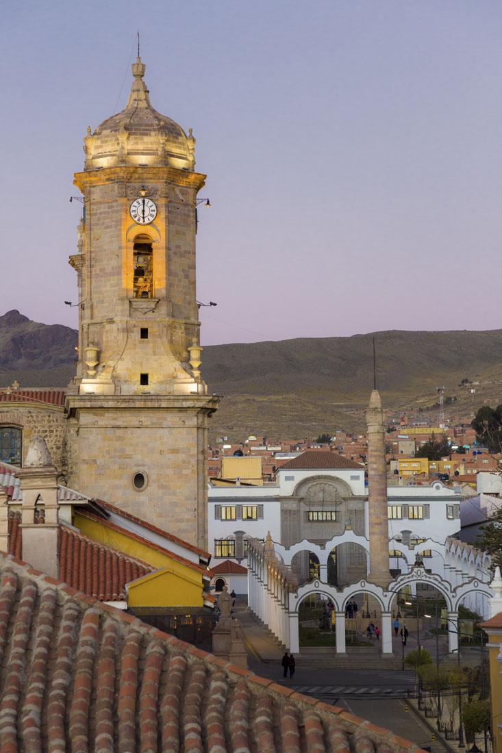 Toren in Potosi