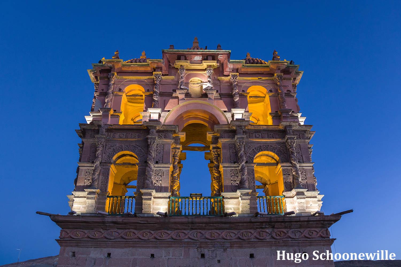 Torre de la Compañia de Jesús Potosí