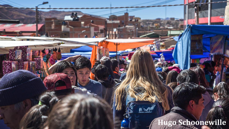 Markt in Potosí