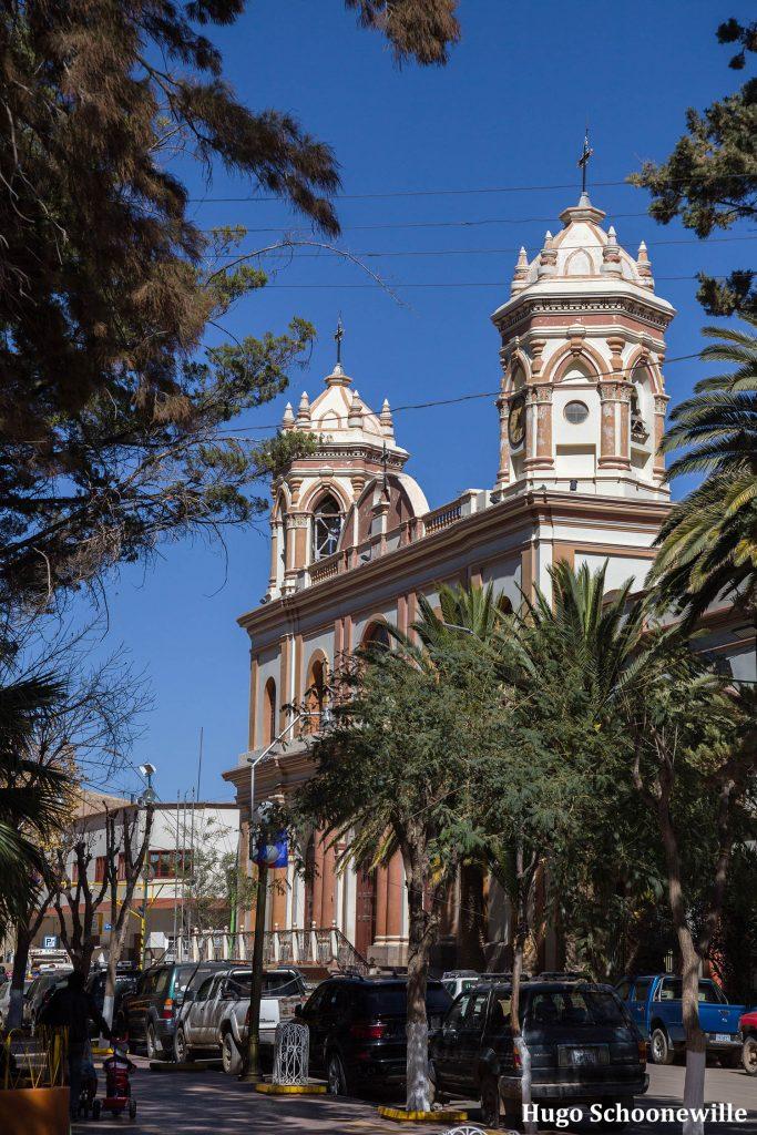 Een kerk in Tupiza