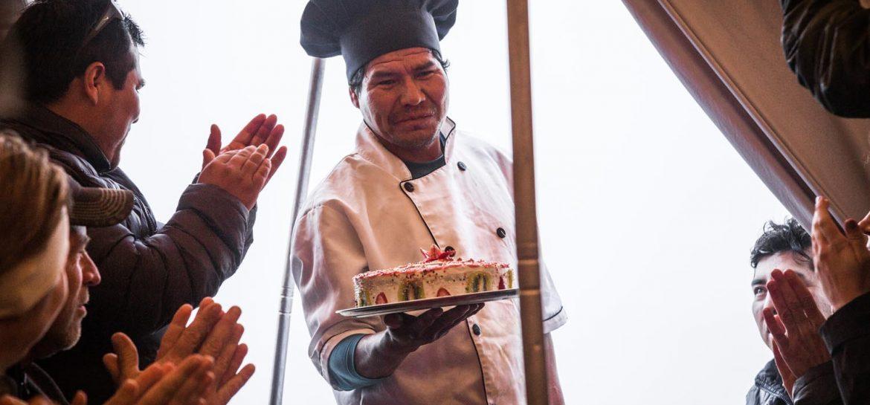 Inca Trail taart
