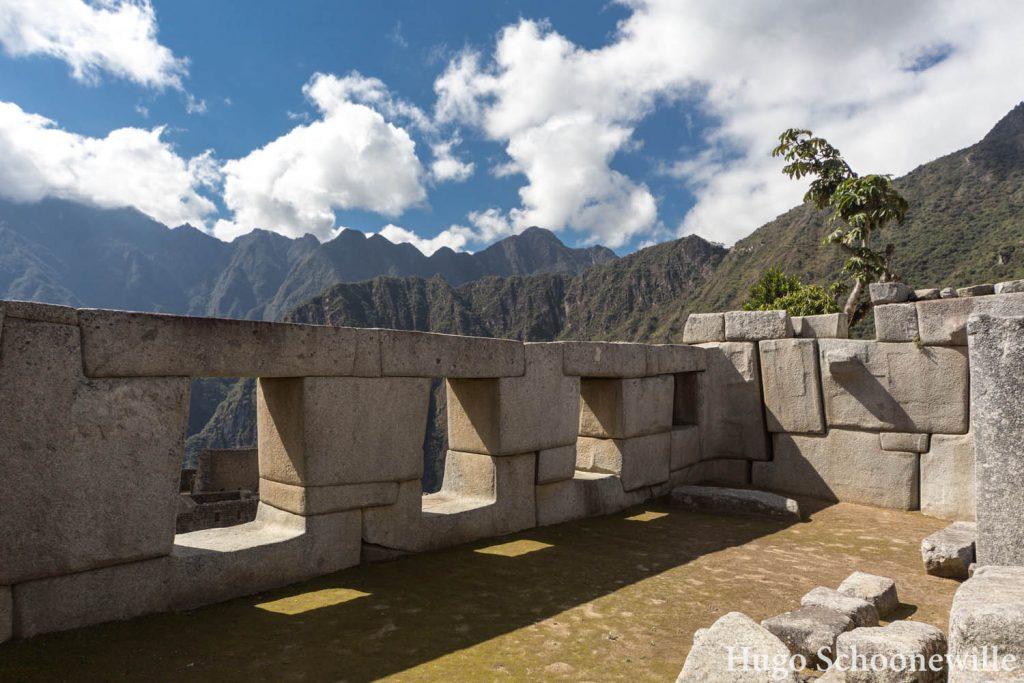 Machu Picchu tempel