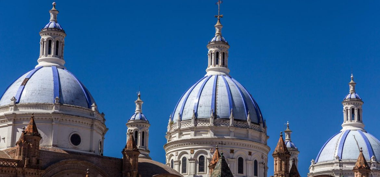Koepel kathedraal Cuenca