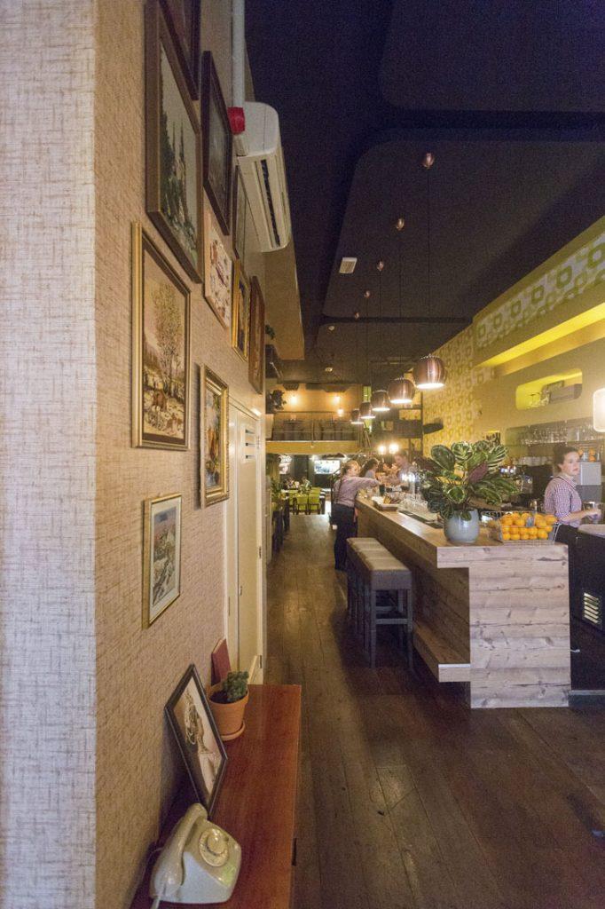 Uit eten in Leeuwarden: interieur Huize Kwast