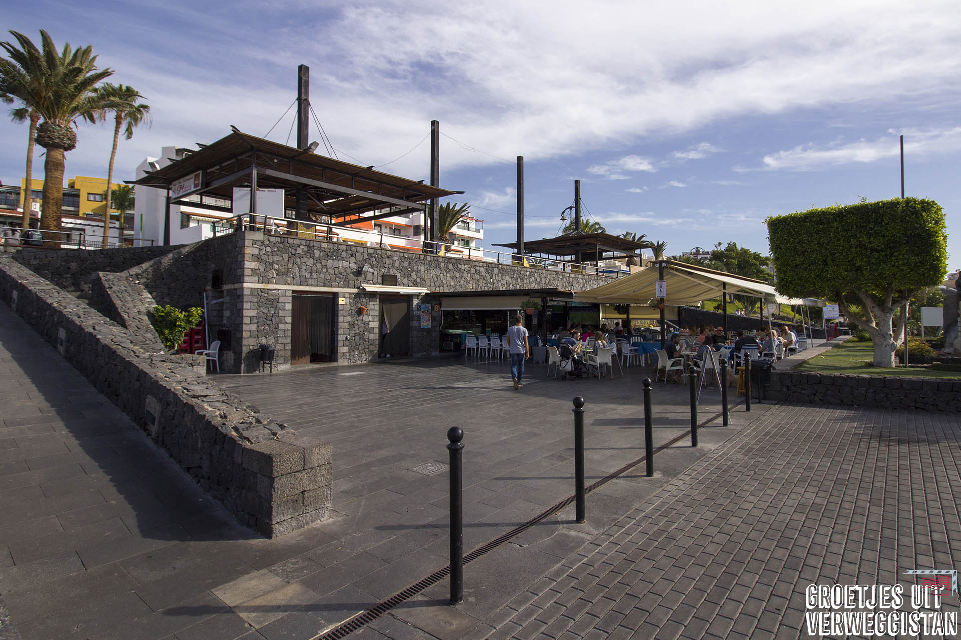 Restaurant Plaza op Tenerife