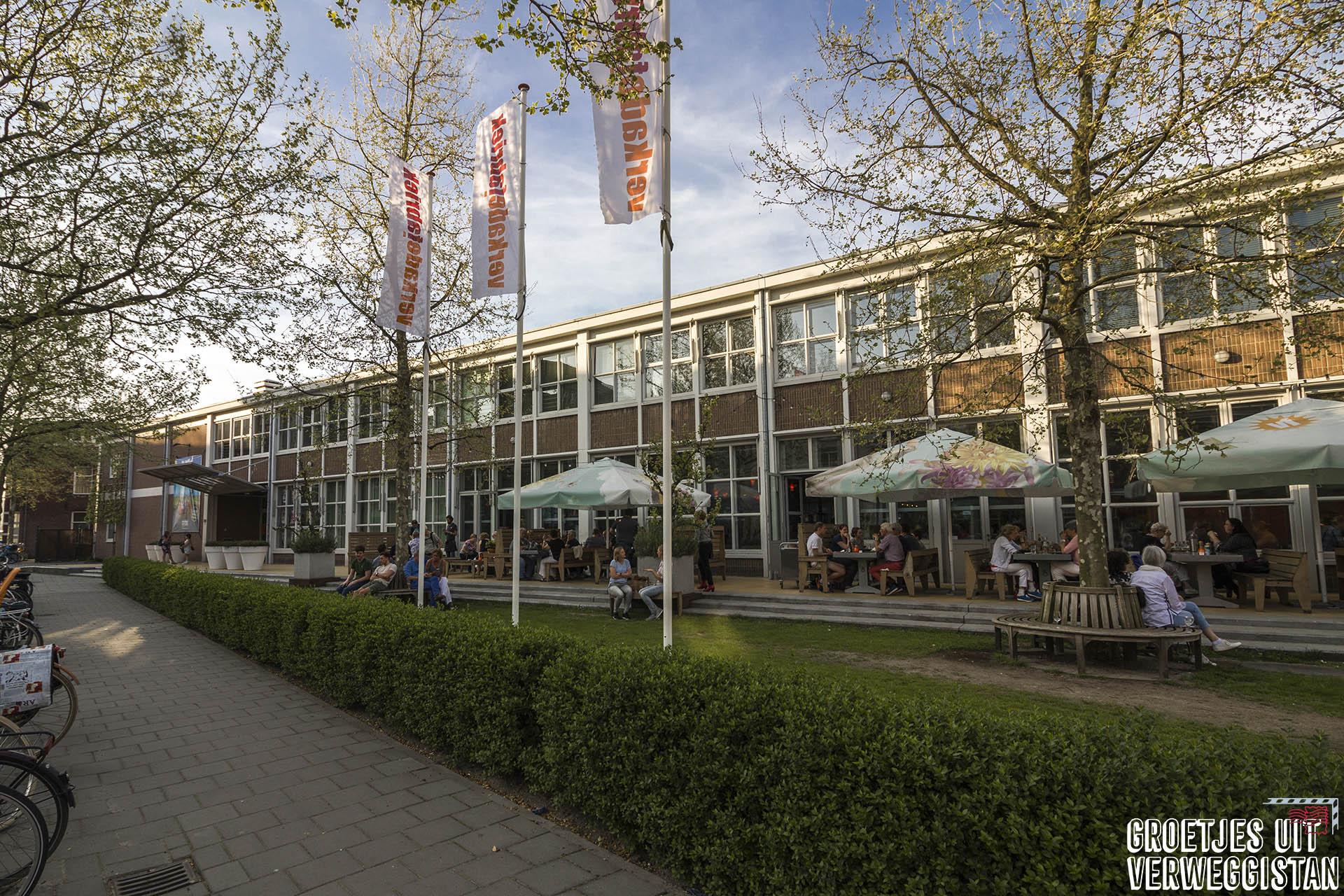 De oude Verkadefabriek in Den Bosch. Nu is het een cultureel centrum met onder andere een filmhuis, theater en restaurant.
