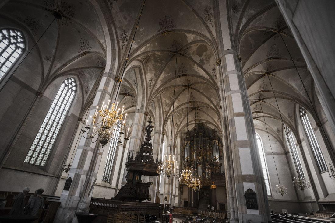 Grote Kerk of Sint Michaelkerk in Zwolle met het Schnitgerorgel
