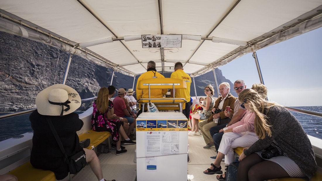 Boot van Flipper Uno: met Masca Express dolfijnen spotten