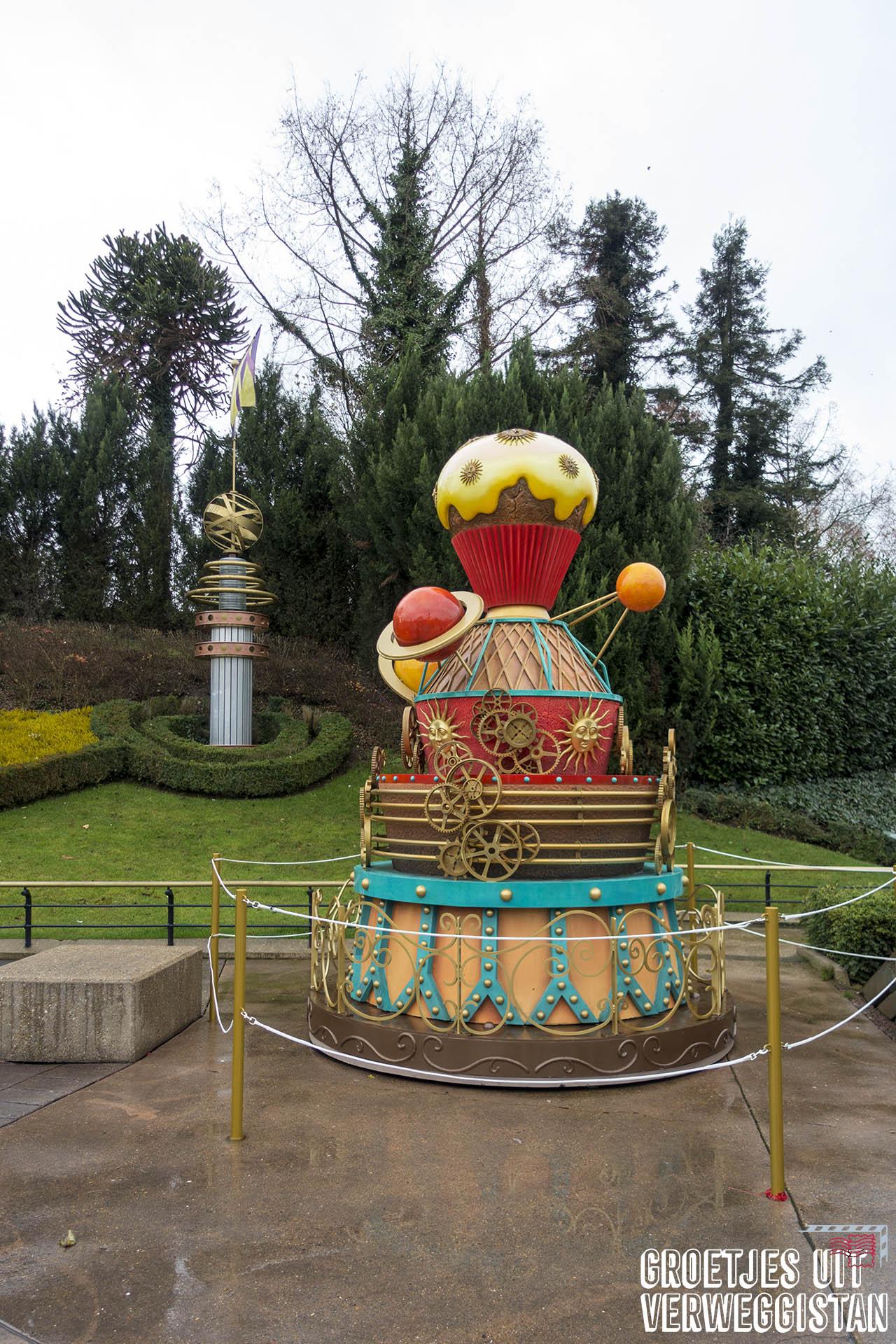 Cupcake ter ere van Mickey's 90e verjaardag in Discoveryland in Disneyland Parijs