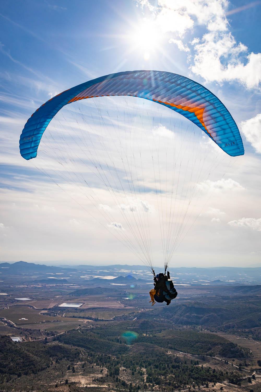 Paragliden bij Alicante