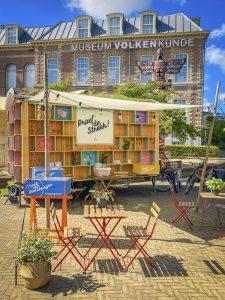 Het Pop-Up Streekhuisje bij Museum Volkenkunde in Leiden