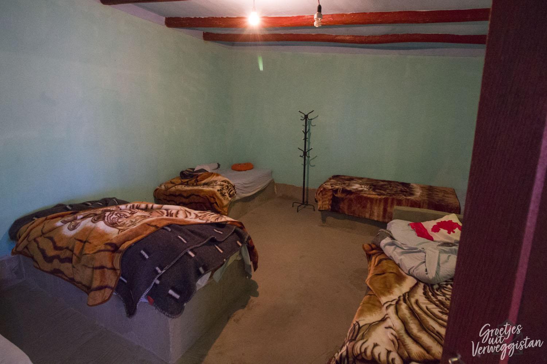 Onze slaapplek tijdens de jeeptour naar Salar de Uyuni.