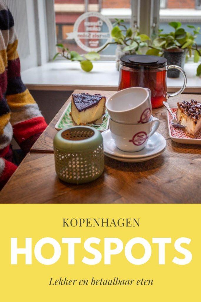 Pinterestafbeelding: lekker eten in Kopenhagen