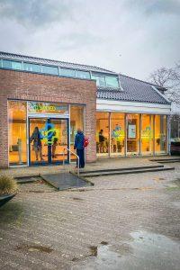 De voorgevel van Spoedtest.nl in Voorburg