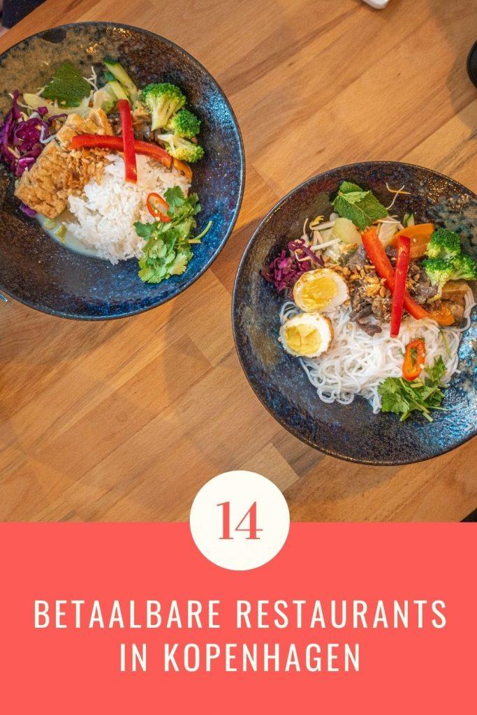 Pinterestafbeelding: betaalbare restaurants in Kopenhagen