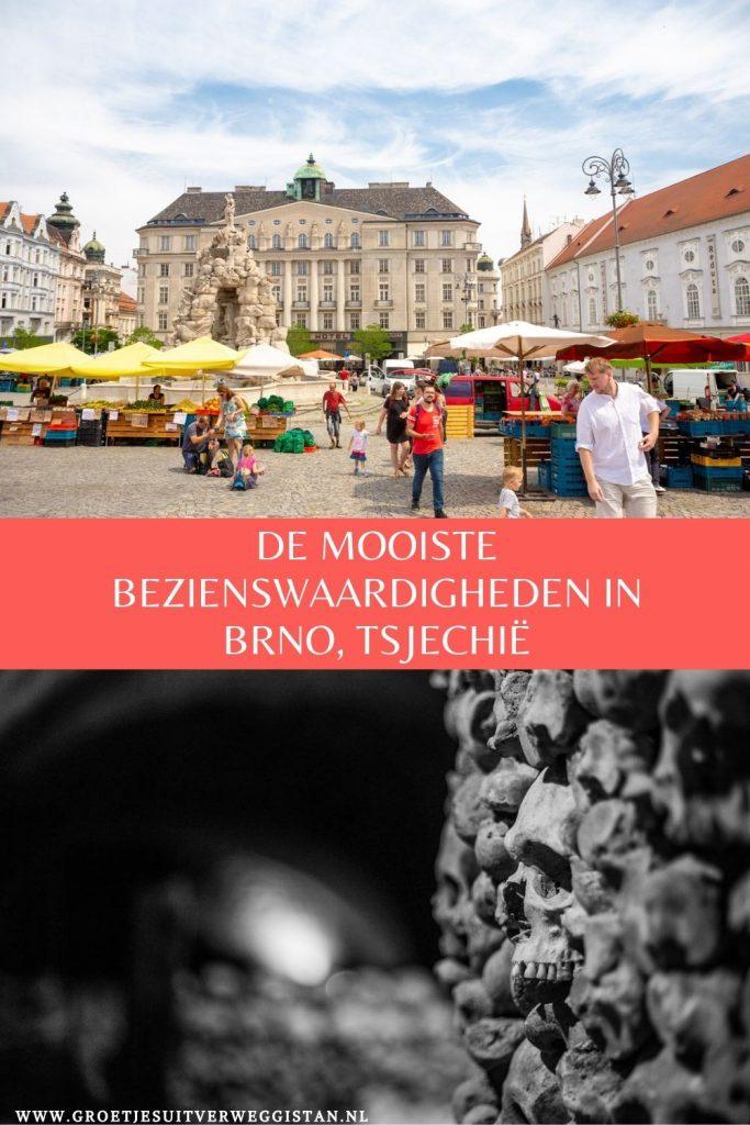 Pinterestafbeelding: de mooiste bezienswaardigheden in Brno in Tsjechië