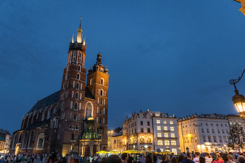 Centrale plein van Krakau