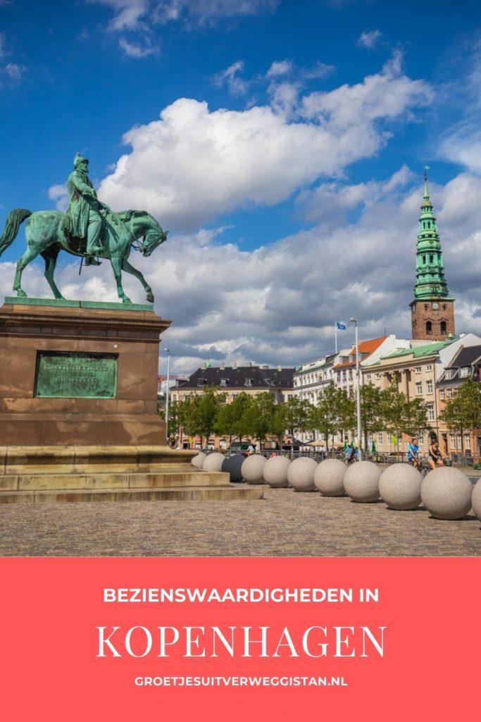 Pinterestafbeelding: de mooiste bezienswaardigheden in Kopenhagen