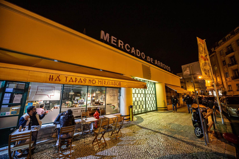 Restaurants in Lissabon Há Tapas no Mercado