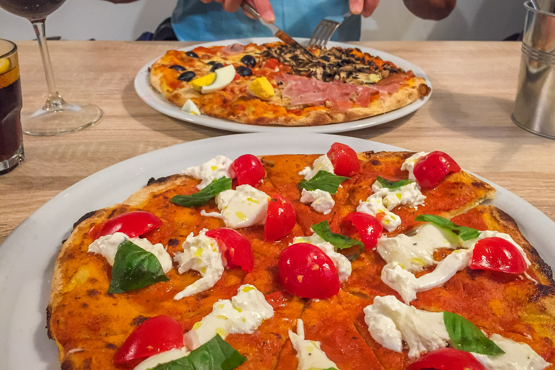 Lekker eten in Lissabon: pizza's van Pizzeria Romana BIO