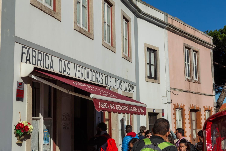 Restaurant Queijadas da Sapa in het Portugese Sintra