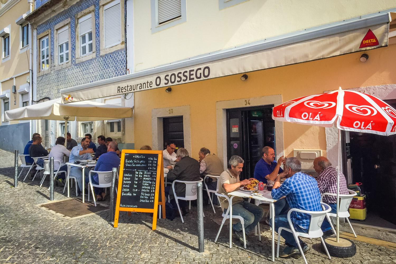Restaurant Sossego in Lissabon met terrasje